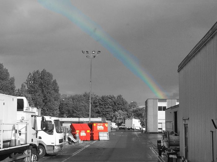 Work Rainbow Randomness