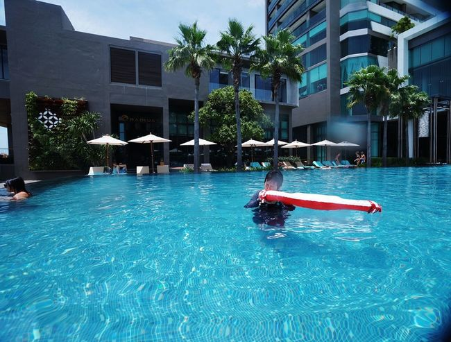 Swimming Pool Water Architecture Building Exterior Luxury Outdoors No People Day