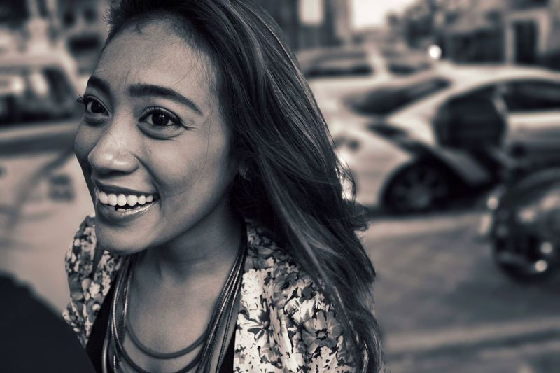EyeEm Best Shots EyeEm Best Shots - Black + White Portrait Smile