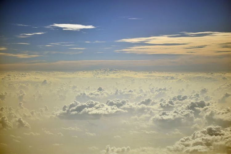 up above the sky. @cloud9 @Clouds @Sky_Collection @upabovethesky Aerial View Beauty In Nature Blue Cloud Cloud - Sky Cloudscape Cold Temperature Idyllic Landscape Majestic Mountain Nature No People Outdoors Scenics Sky Snow Tranquil Scene Tranquility Winter