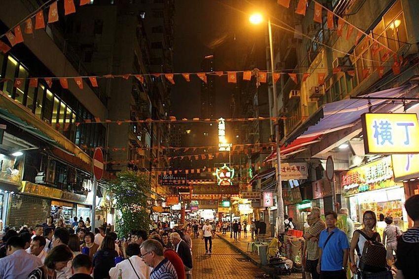 HongKong Nigntmarket Street