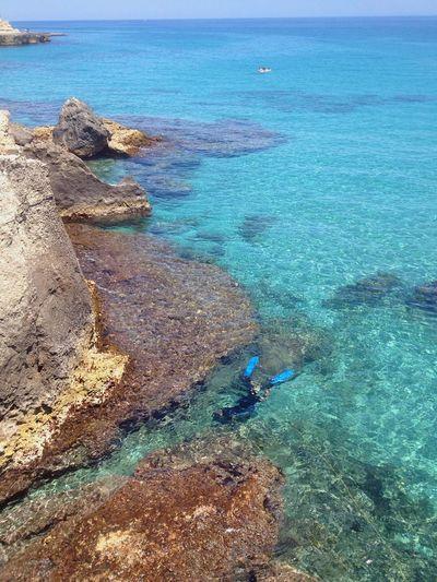 Sub in a beautiful sea Sub Underwater Sea Beautiful Beautiful Nature Beautiful Day Beautiful World Beautiful Sea Water Adriatic Sea Puglia Salento Italy