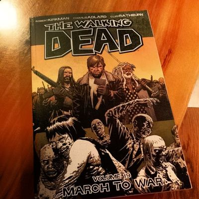 Yes!!! This came out on the 19th and I got my copy today!! Thewalkingdead Graphicnovel Nerdgirlproblems