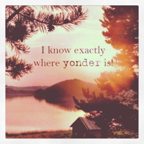 Yes, yes I do. Roundhere Wayouthere Yonder Country Tennessee woods backwoods redneck