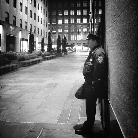 Even hero has the right to bleed. NYPD The Portraitist - 2014 EyeEm Awards Rockerfeller Street Photography