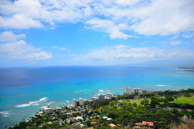 Hawaii Hawaii Life Hawaiian Style Holiday Waikiki Waikiki Beach Beach Beauty In Nature Blue City Cityscape Diamond Head Diamondhead Hawaiian Honolulu  Horizon Horizon Over Water Kahara Nature Resort Scenics - Nature Sea Sky Vacation Water