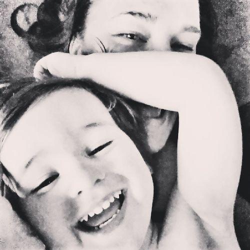 Little man snuggles make a rough day better! Lovemyboy Mommyandme