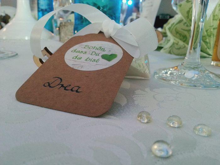 Liebe Love Hochzeit Wedding Tischdeko  Deko Glas Namensschild Platzkarte