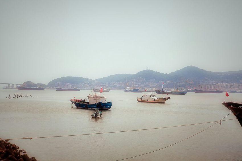 Shengsi Seaside Seascape Lightroom VSCO Fishing Boat Fishing Village Hello World My City City Life