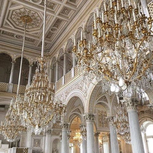 Architecture Travel Destinations Travel Place Of Worship Architectural Column Religion City Tourism Arch Built Structure History No People Vacations Horizontal Day Outdoors Building Exterior Ceiling Chandelier Winterpalace Baroque Trustme