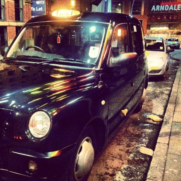 Manchester Taxi Blackcab Printworks