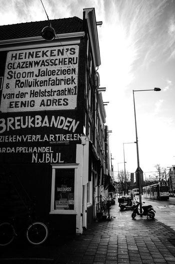 Amsterdam Building Building Exterior Buildings City Day Heineken No People Outdoors Sky