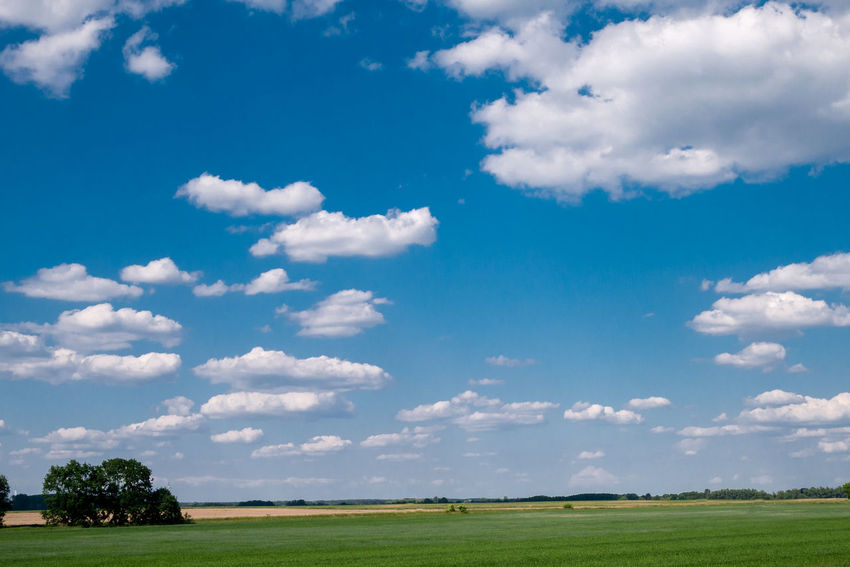 Clear Sky Country Living High Himmel Und Wolken White Clouds Air Beauty In Nature Blue Cloud - Sky Day Environment Fresh Frisch Nature No People Outdoors Oxygen Scenics - Nature Sky To Breathe Tranquil Scene Tranquility Wadding Width The Great Outdoors - 2018 EyeEm Awards