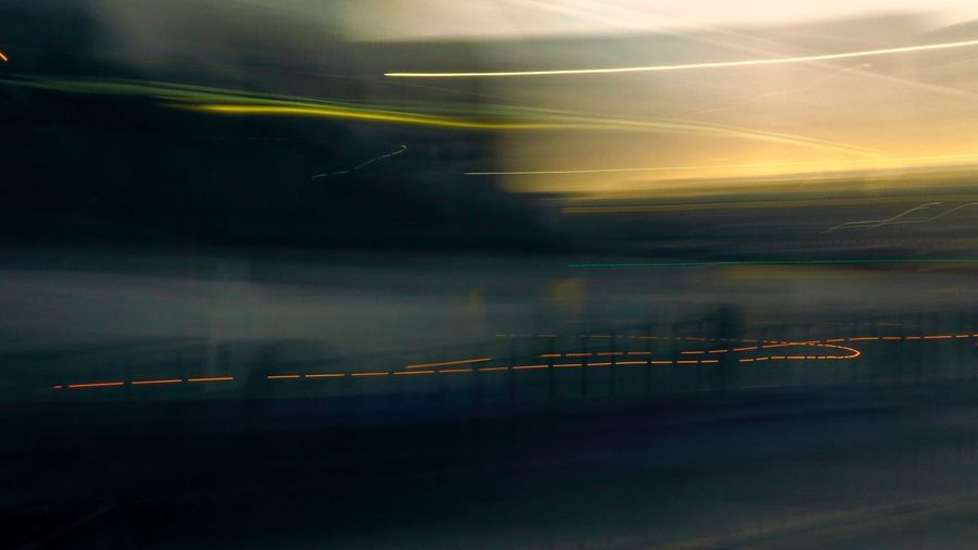 Urban Landscape Blurred Motion City