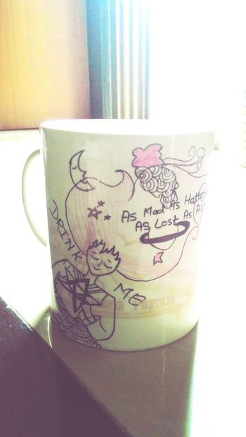 Doodling on ☕ mug Tea Teamug Doodle