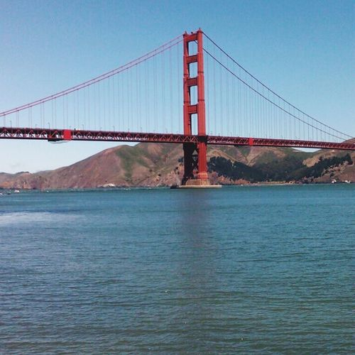 San Francisco Golden State Bridge California