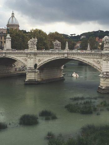 Ponte Sant'Angelo Bridge. Rome, Italy Rome Roma Italy Travel Travel Photography Wanderlust Pontesantangelo