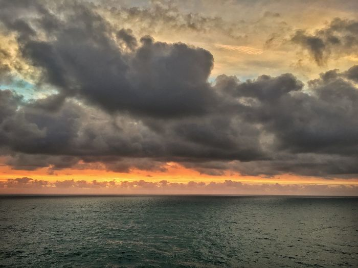 Timeless. Sunset Cloud - Sky Beauty In Nature Scenics Sea Sky Tranquility Nature Dramatic Sky Tranquil Scene Idyllic Horizon Over Water No People Water Outdoors Storm Cloud Day Great Outdoors-EyeEm Awards 2017 Beauty In Nature Freedom