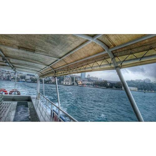 The Voice Of The Sea Speaks to The Soul.. Vapur Uskudar RainyDay Bosphorus Denizhavası Beautiful Karşı Geziyoruz