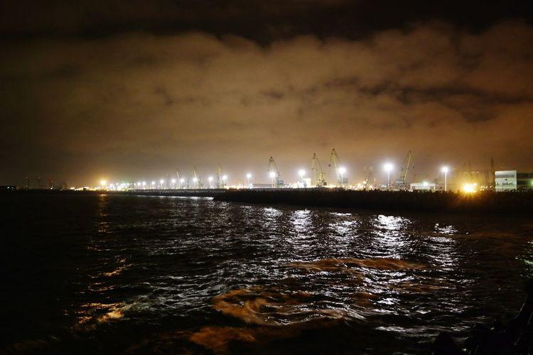 Harbor lights First Eyeem Photo Constanta Casino romania