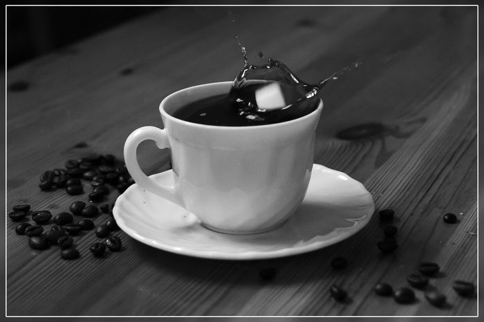 Bnw_coffee Bnw_friday_eyeemchallenge Bnw Close-up EyeEm Best Shots Food And Drink Sugar Coffee Time Malephotographerofthemonth
