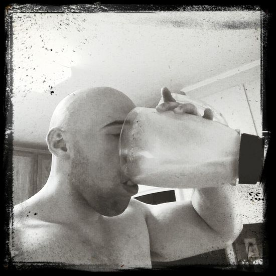 Post Workout My Protein Shake Like A Boss That's Me