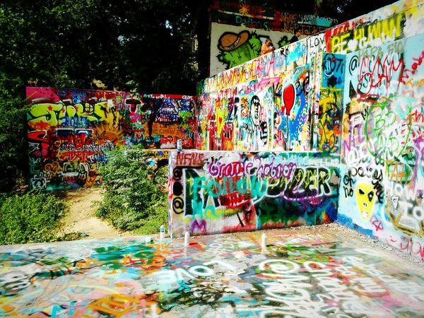Colour Of Life Colors Graffiti Graffiti Art Grafitti Wall Austin Texas Home Is Where The Art Is America Pivotal Ideas Trees Vibrant Vibrant Colors Art