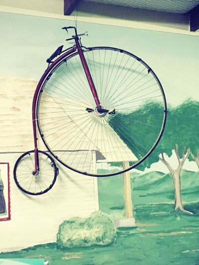 Bicycle Transportation Mode Of Transport Land Vehicle Wheel Stationary No People Museum