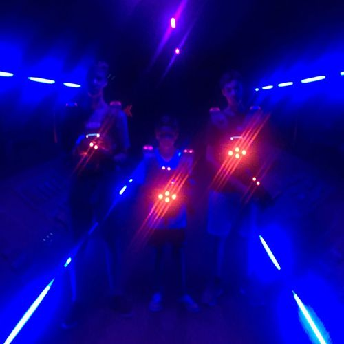 Laser Tag Arts Culture And Entertainment Night