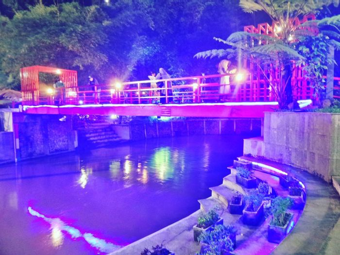 Color Full 😀 Color Colorful Lighting Kota Bridge #original Photography Gawaigraphy Full Frame River City Forest Purple Red Water City Illuminated Cityscape Tree Neon Ice Rink Nightlife Swimming Pool Arts Culture And Entertainment Light Trail Light Painting