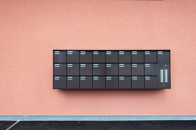Row of Mailbox