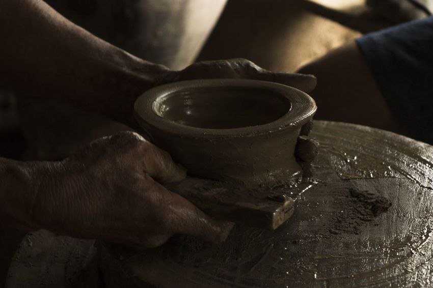 Pagburnayan, Vigan, Philippines Clay Craft Making Occupation Philippines Pottery Pottery Art Working