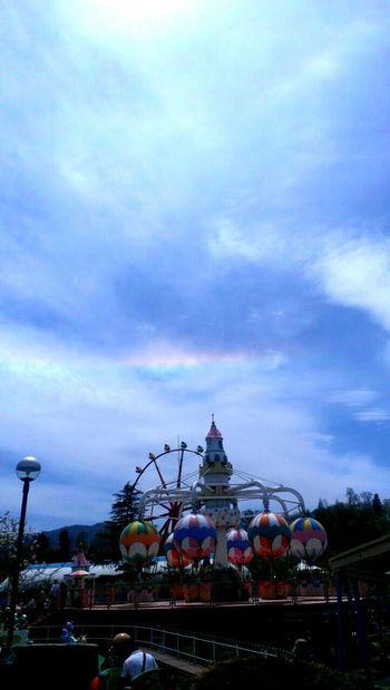 環水平アーク 虹 Rainbow 環水平アーク 蒜山高原センター Happy Circumhorizn Arc 遊園地 Amusement Parks Amusementpark Rainbows