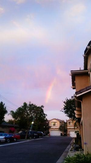Este arcoiris esta mucho más hermoso de lo que se ve :) Mucho color | Duarte CA | ♧