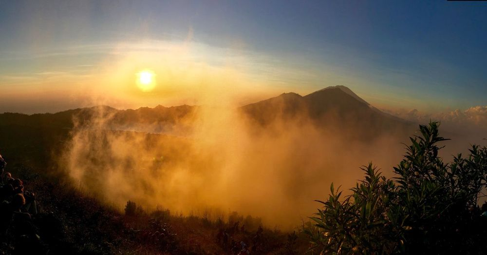 Mount Batur Sunrise 🇮🇩📍☀️ Sunrise Bali, Indonesia Mount Batur First Eyeem Photo