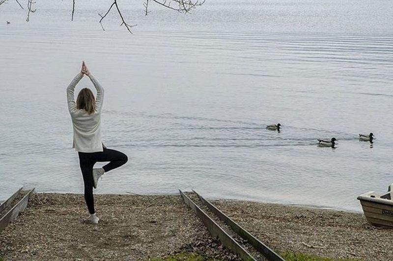 In armonia con la Natura Joga Meditation Meditazione Vivolecco Bosisio Lake Nikon Vivonatura Travel Brianza Brianza_photo Sunset Sunrise Igersbrianza Volgolecco Relax Zen