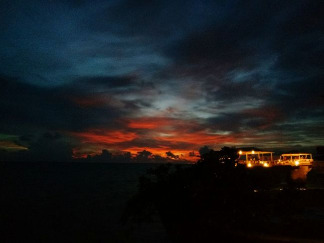 Best sunset in Boracay. Cloud - Sky Sky Nature Beauty In Nature Outdoors Silhouette Scenics Sunset Dramatic Sky Night