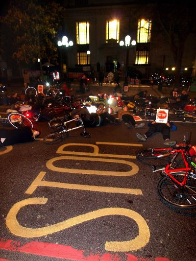 Stop Killing Cyclists. Vigil +Die-In. To honour cyclist killed by a heavy goods vehicle on Pentonville Road. Islington Town Hall. Upper Street. Islington. 08/11/2017 Politics And Government London Cycling Campain Islington Steve Merrick Protestor Cycling London Stevesevilempire Cyclists Stop Killing Cyclists Protest London News Zuiko Olympus Cyclist Protest Vigil