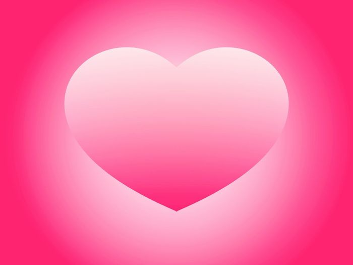 illustrated radial pink heart background Heart Shape Love Valentine's Day - Holiday RomanceHeart Pink Wall Color Decoration Auspicious Decorative Birthday Eyeem Illustration