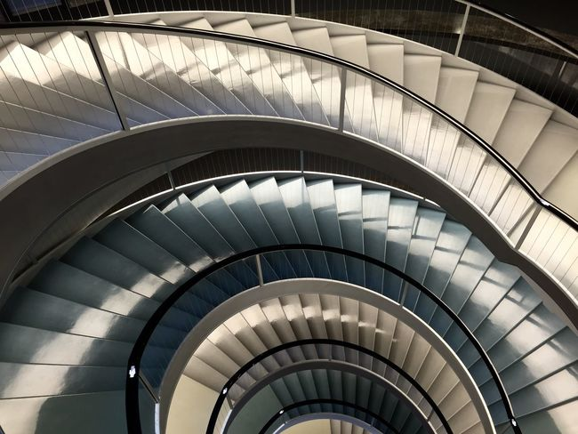 Showcase: November Fakeormistake Colour Stairs Curves Architecture
