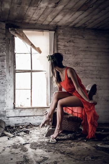 Abandoned Abandoned House Model Modeling Beautiful Photoshoot First Eyeem Photo