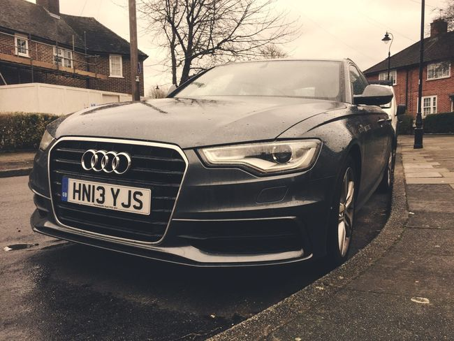 Car Outdoors No People Audi AudiA6 Elegant Grey London Baller Trading Stockmarket Carcollection First Eyeem Photo