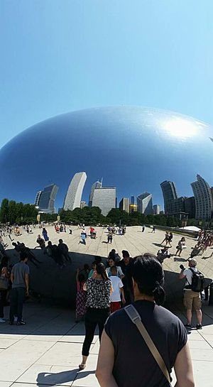 What's On The Roll , Hanging Out , Chicago, Check This Out Outdoors Sky Hello World Variation Escaping site seeing , The Bean