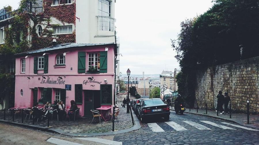 La Maison Rose ❤ Paris Architecture Parisjetaime Montmartre