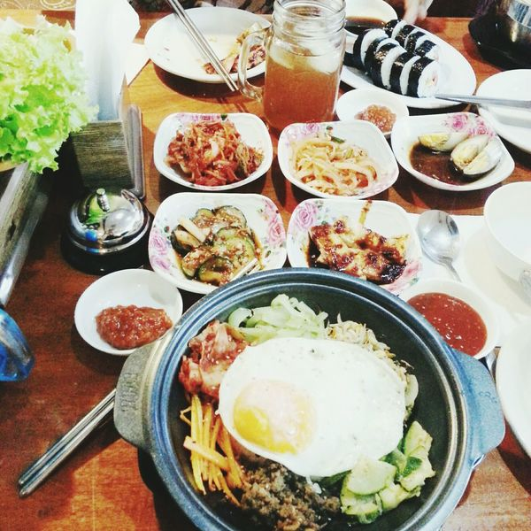 Kimbap Koreanbibimbap Samgyupsal Korean Food Soygarlic Chickens