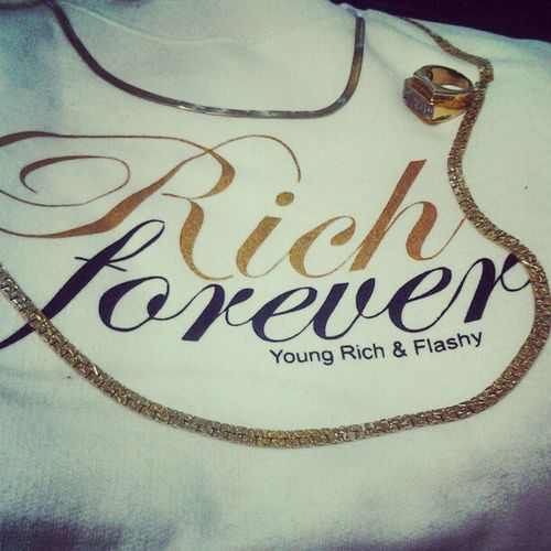 YOUNG_RICH_AND_FLASHY We gonna be Rich Forever!! We flexin on other brands! Clothing Streetwear Fresh DOPE Worldwide Takeover Yourfavoritebrand Crewneck California Cali Caliswagg Rickross Meekmill Wale MMG Flossin Diddy Drake  Takeover