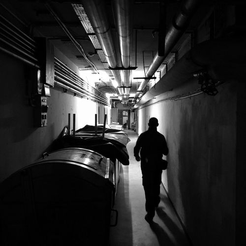 Underground Passages Gdańsk 29 November 2015 Iphone 6 Plus IPhoneography IPS2015Light Bnw_collection Bnw Dark Light And Shadow Silhouette Streetphotography Streetphoto_bw EyeEm Masterclass EyeEm Best Shots Gdansk Poland Underground Basement