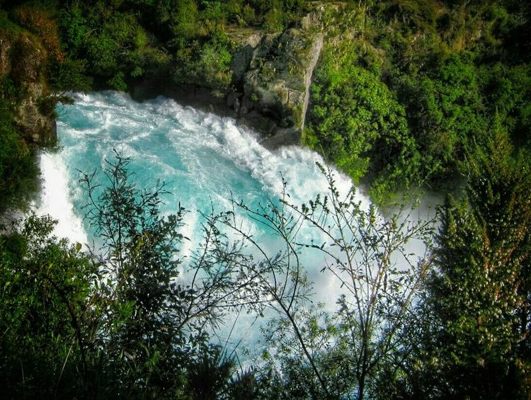 Taupo Huka Falls Waterfall River Water Blue Water Rapids Nature Nature_collection Nature Photography New Zealand Scenery Power In Nature Simple Beauty Splash Blue Wave