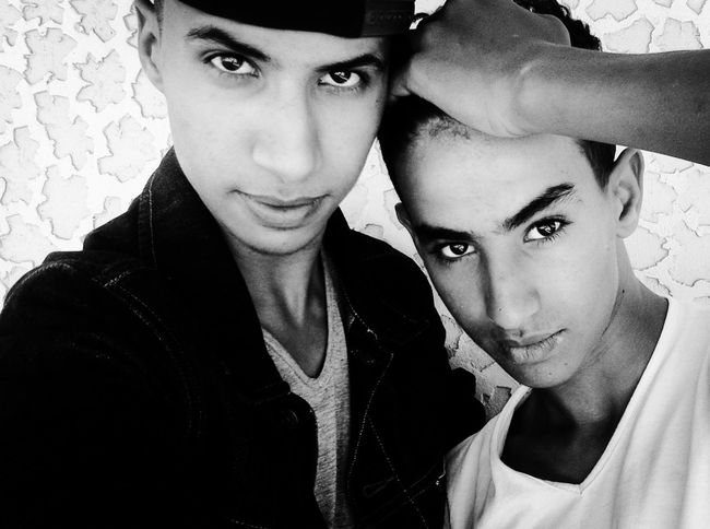 Me and my brother Me&bro Black & White Friends Boss