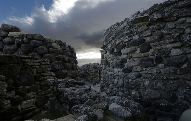 Ancient Ancient Civilization Architecture Barumini Built Structure Cloud - Sky Day History Nature No People Nuraghe Old Ruin Outdoors Rock - Object Sardegna Sardinia Sky